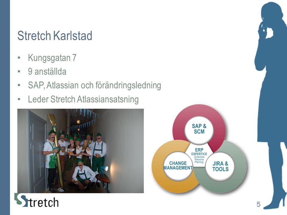 Stretch Karlstad Kungsgatan 7 9 anställda SAP, Atlassian och förändringsledning Leder Stretch Atlassiansatsning 5