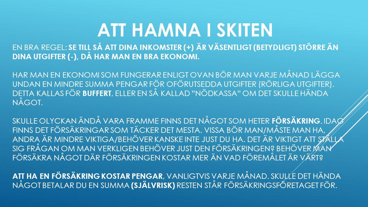 HEMFÖRSÄKRING – DEN VIKTIGASTE FÖRSÄKRINGEN.