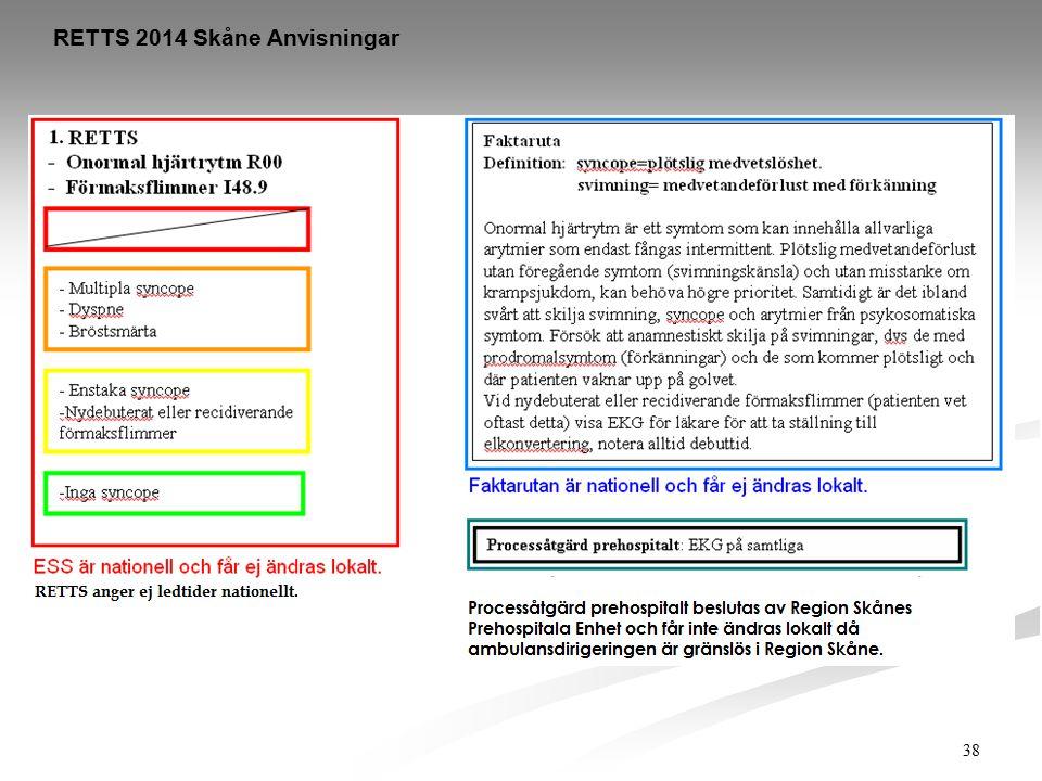 38 RETTS 2014 Skåne Anvisningar