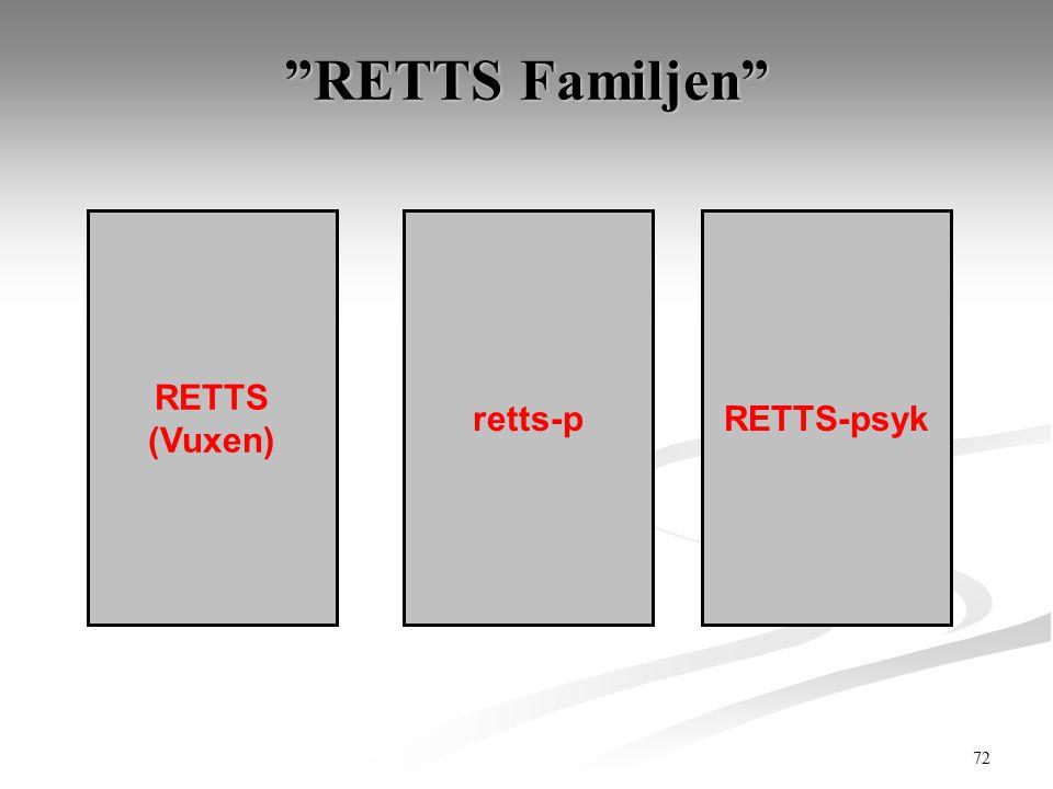 "72 ""RETTS Familjen"" RETTS (Vuxen) retts-pRETTS-psyk"
