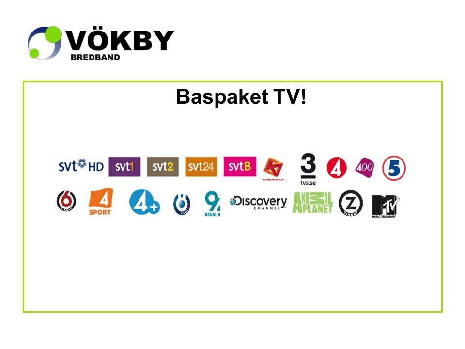 Baspaket TV!