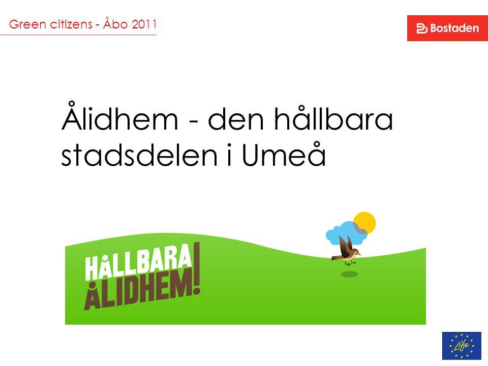 Ålidhem - den hållbara stadsdelen i Umeå