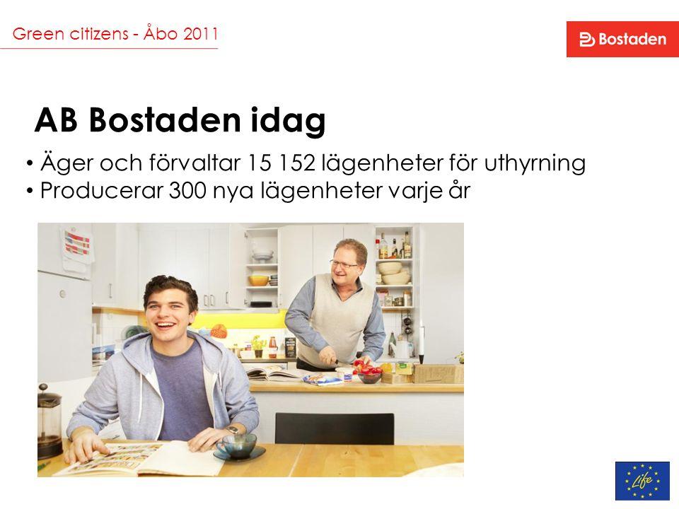 Green citizens - Åbo 2011 Echolog - lägenhetsterminal