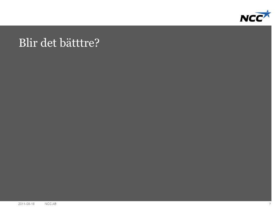 Divider slide Dark grey Blir det bätttre? 2011-08-18NCC AB 7