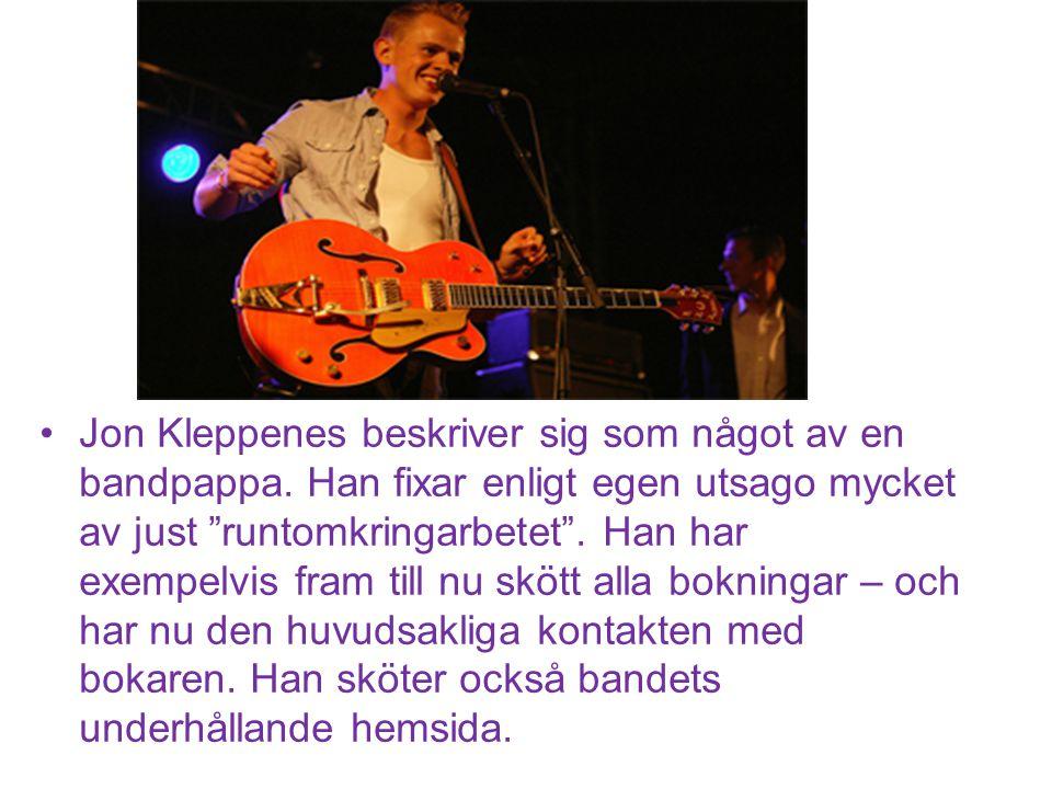 Basisten Martin Lindahl har varit en seriös musiker från start.