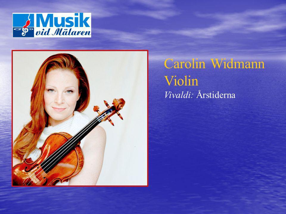 Carolin Widmann Violin Vivaldi: Årstiderna