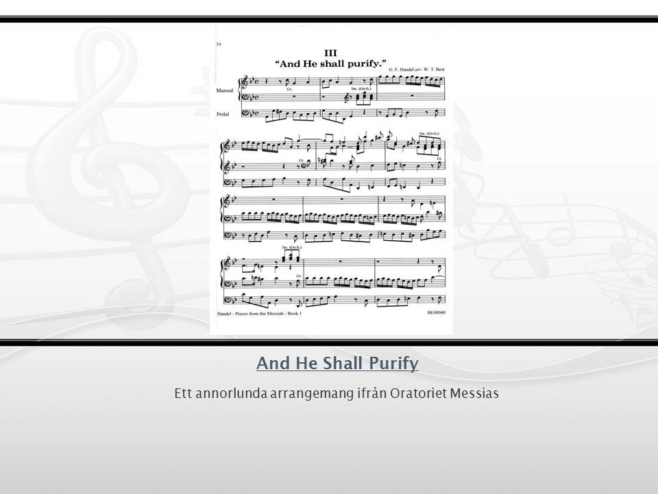 Oratorier till Operor Foundling Hospital Olyckan Jephtha 1752 Händels bortgång, 1759