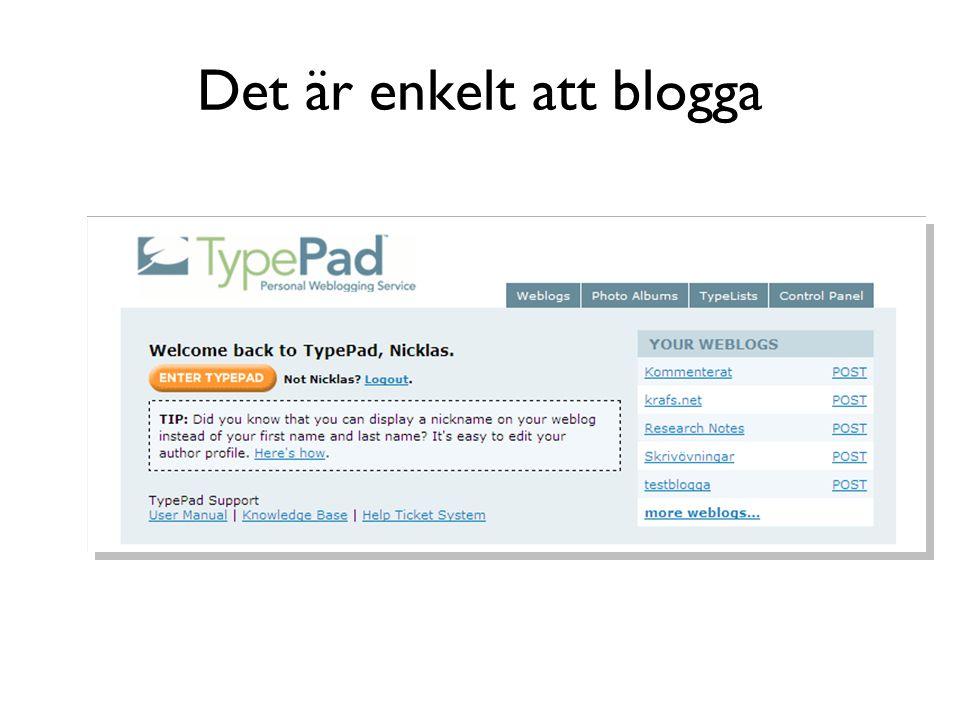 Blogopticon?