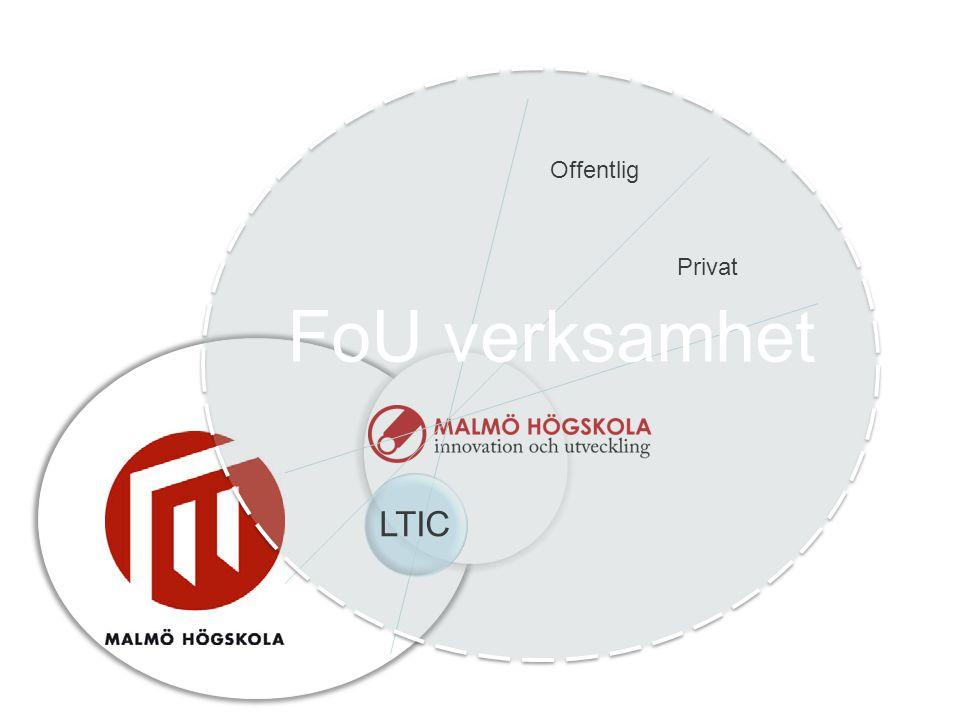 Offentlig Privat LTIC FoU verksamhet