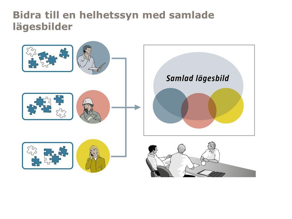 Myndigheten för samhällsskydd och beredskap Bidra till en helhetssyn med samlade lägesbilder