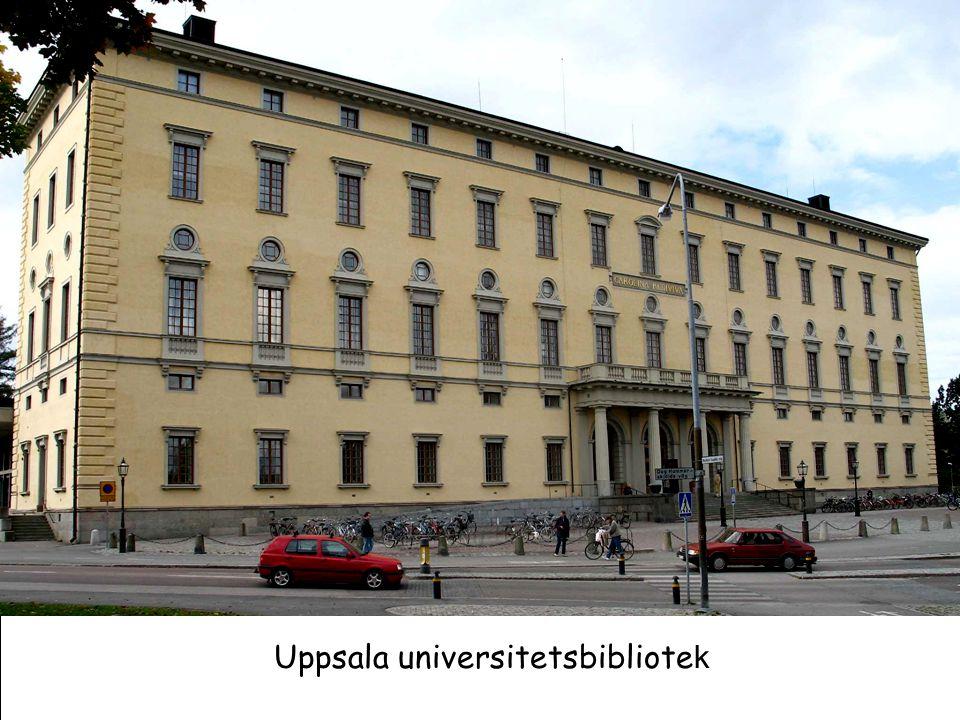 Uppsala universitetsbibliote k