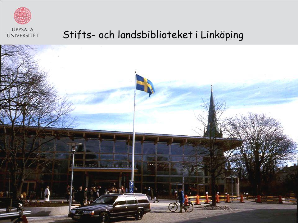 Stifts- och landsbiblioteket i Linköping