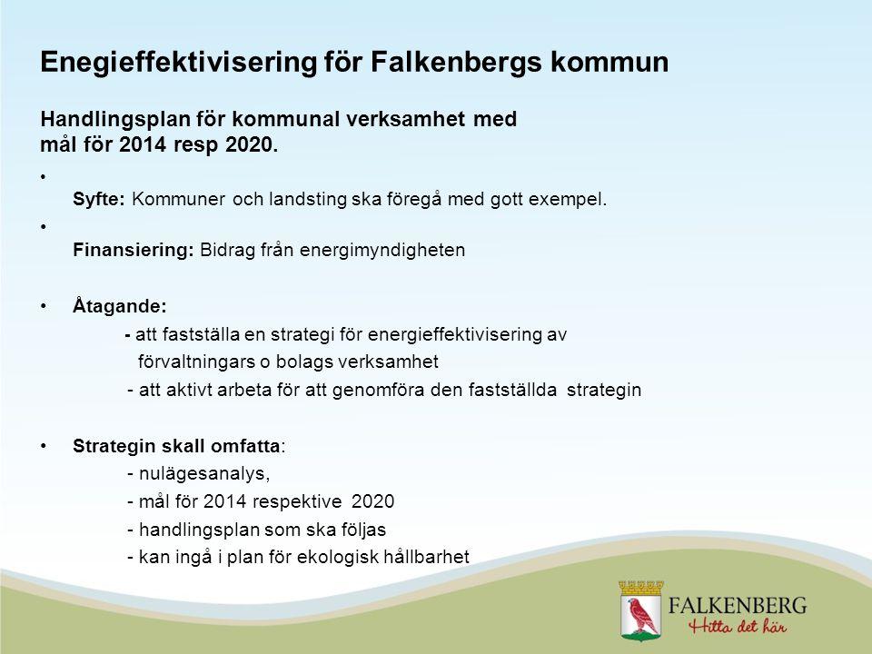 Syfte: Kommuner och landsting ska föregå med gott exempel.