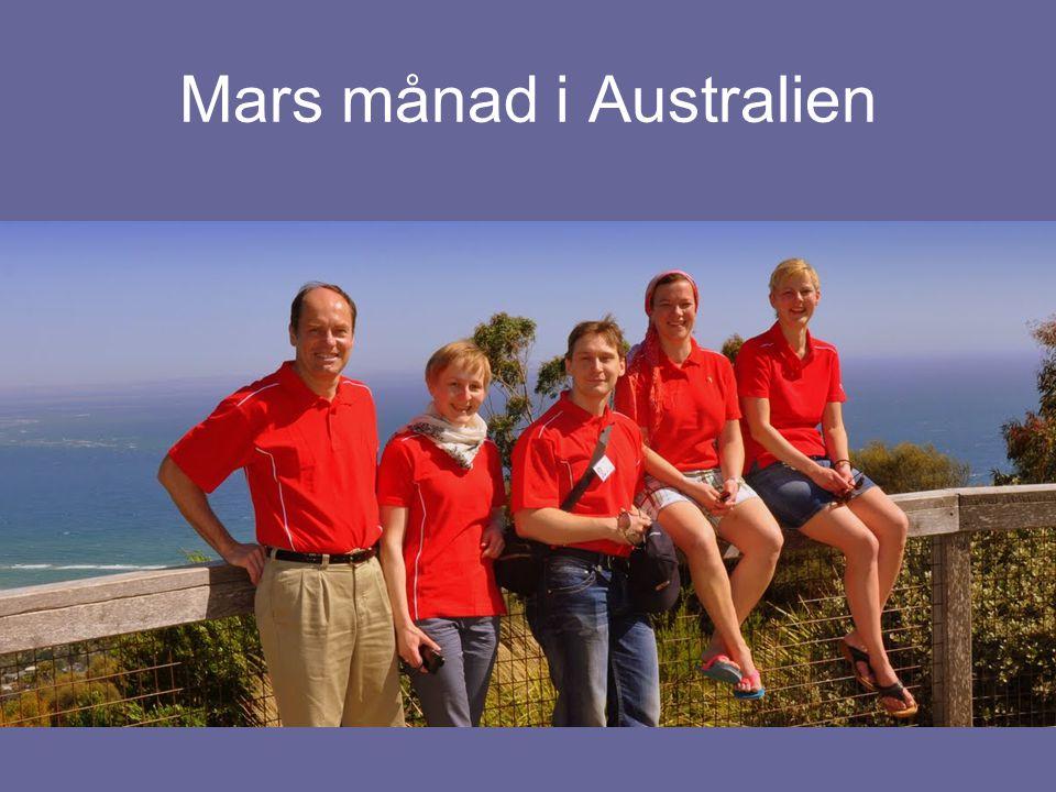 Mars månad i Australien