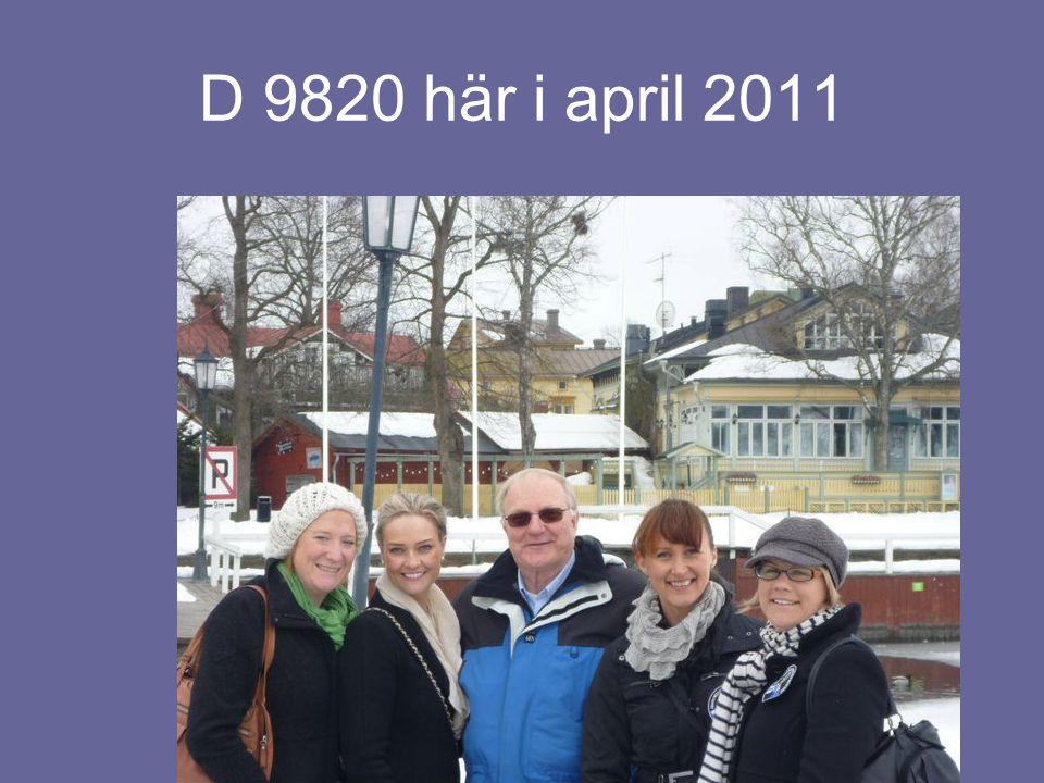 D 9820 här i april 2011