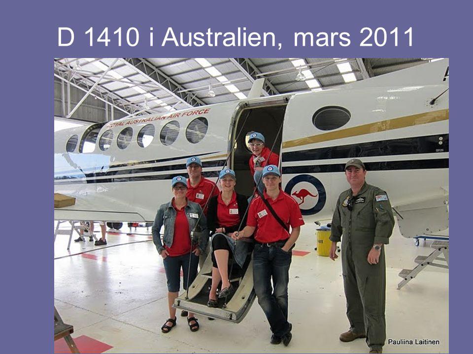 D 1410 i Australien, mars 2011