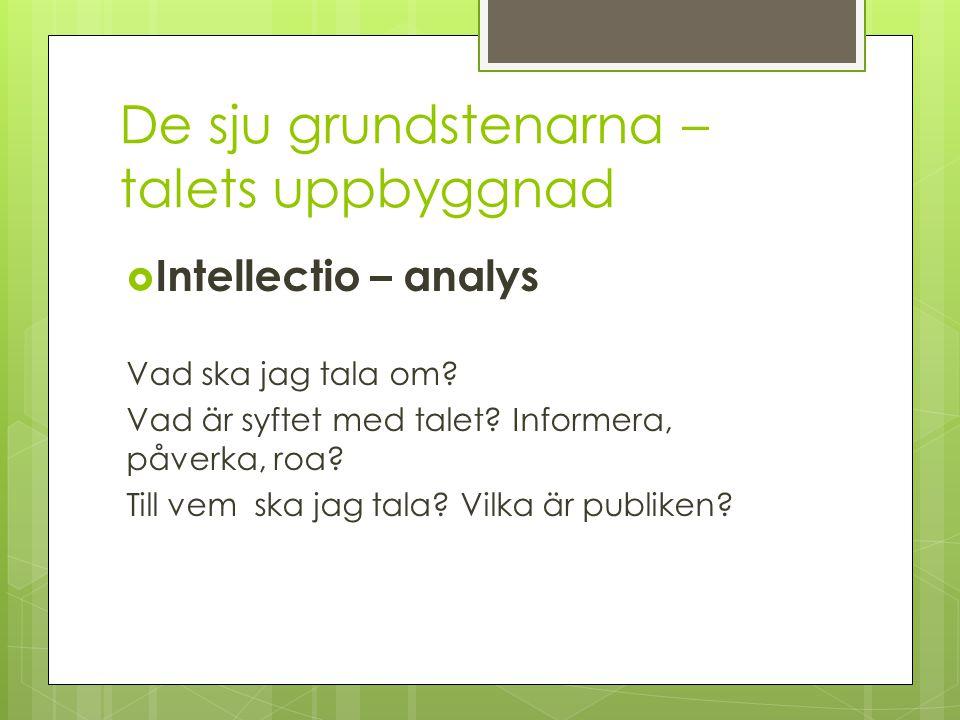 Inventio – innehållet  Här samlar vi materialet till talet: Intervjuer, enkäter, artiklar mm… Glöm inte källan!