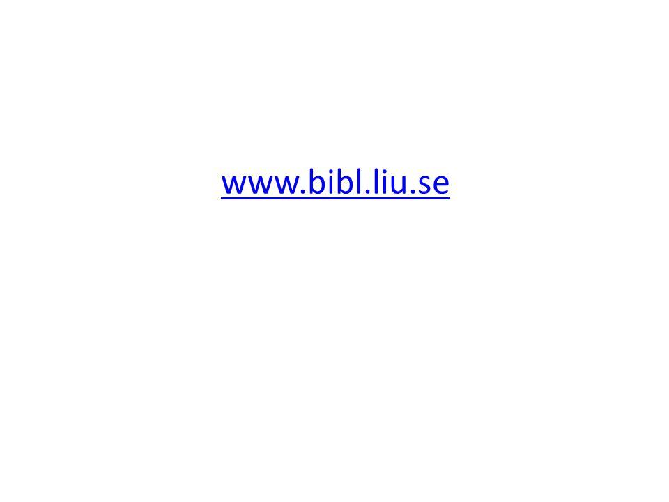 www.bibl.liu.se