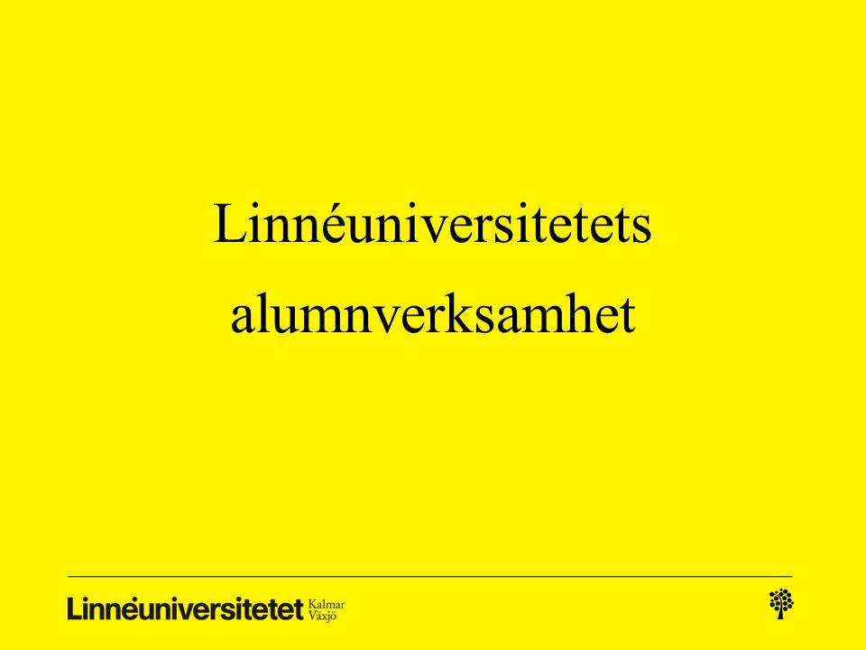 Linnéuniversitetets alumnverksamhet