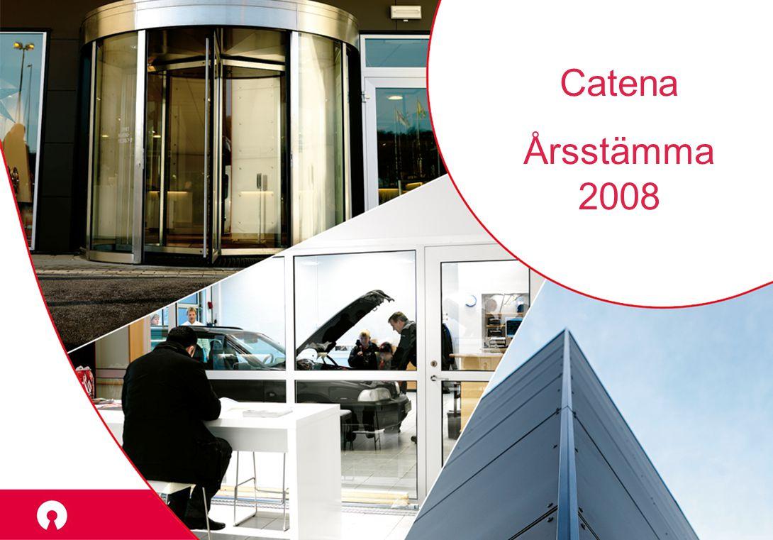 Catena Årsstämma 2008