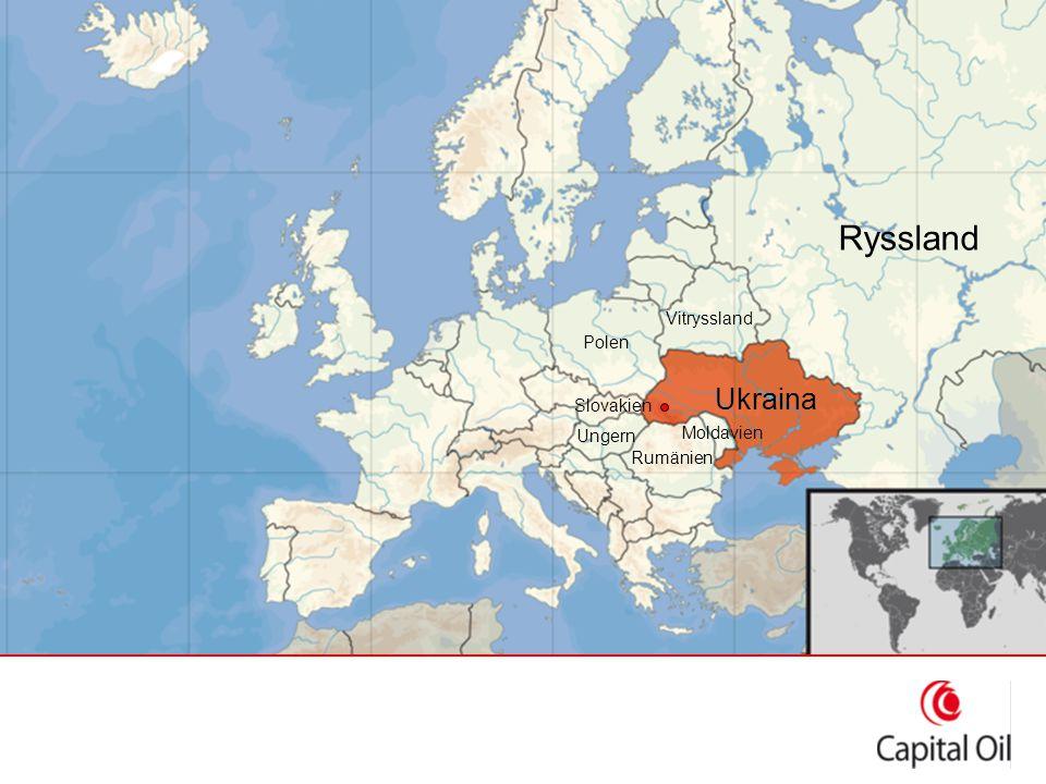 Ukraina – mitt i Europa Vitryssland Rumänien Ungern Slovakien Polen Ryssland Moldavien Ukraina