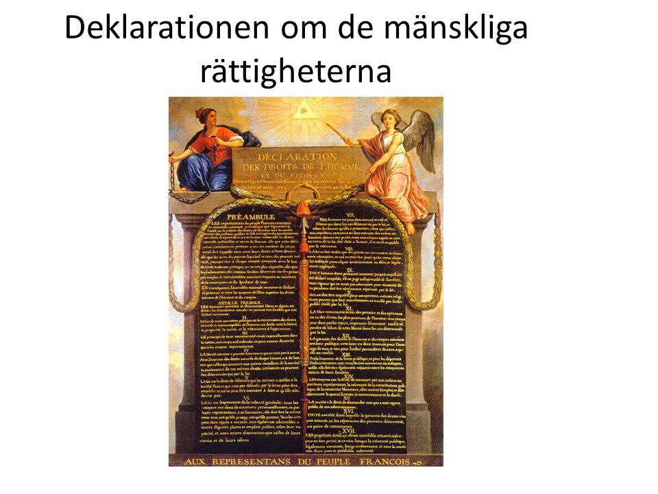 Deklarationen om de mänskliga rättigheterna