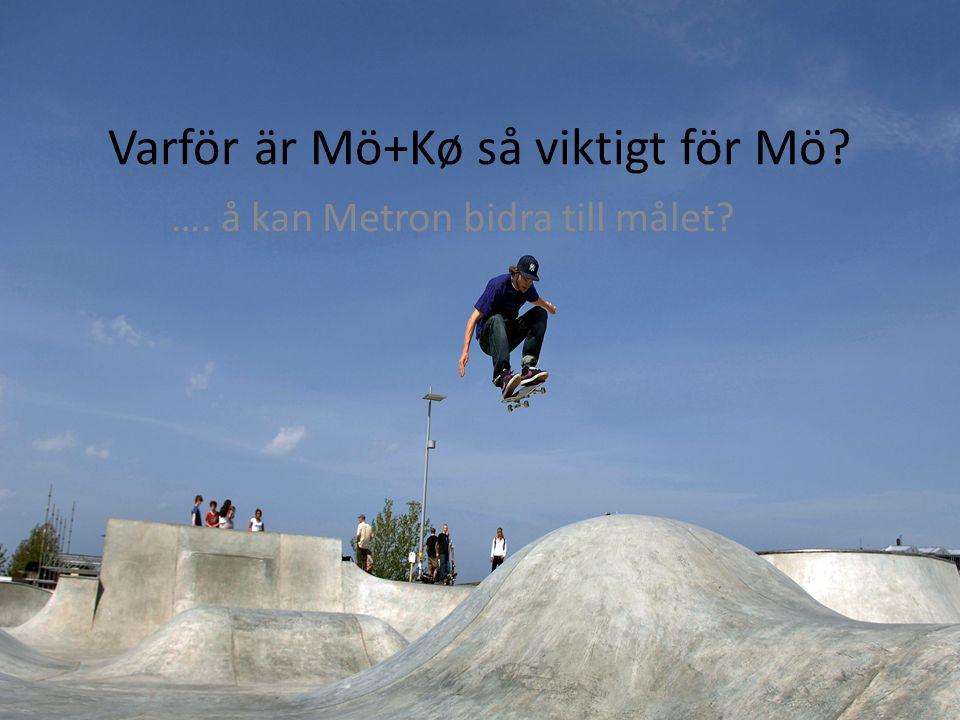 Varför är Mö+Kø så viktigt för Mö …. å kan Metron bidra till målet