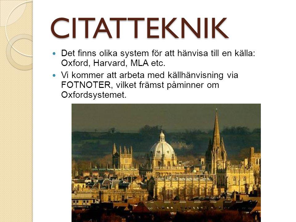REFERENSER TIDNINGSARTIKEL: Inkludera: författare, artikelns titel (inom citationstecken), tidningens namn och artikelns datum.