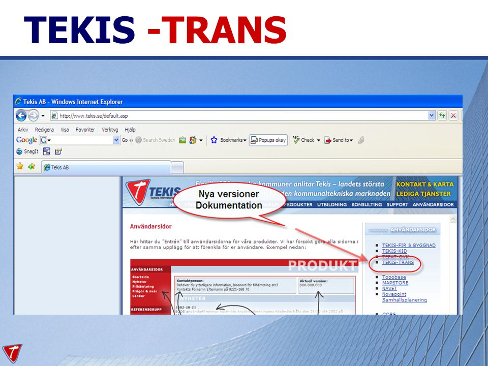 TEKIS -TRANS