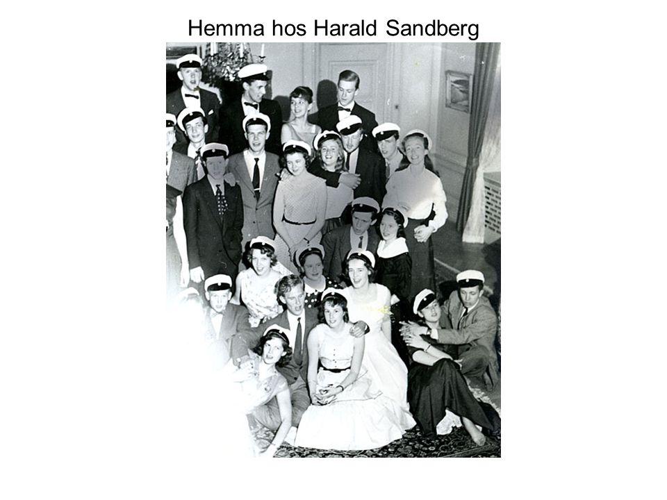 Hemma hos Harald Sandberg