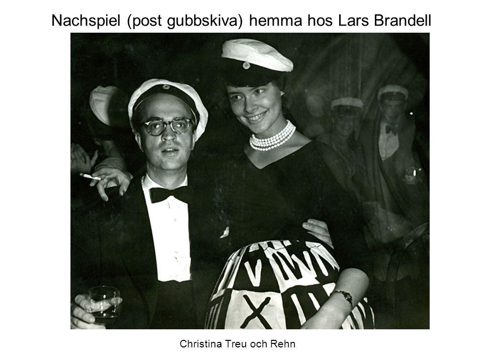 Nachspiel (post gubbskiva) hemma hos Lars Brandell Christina Treu och Rehn