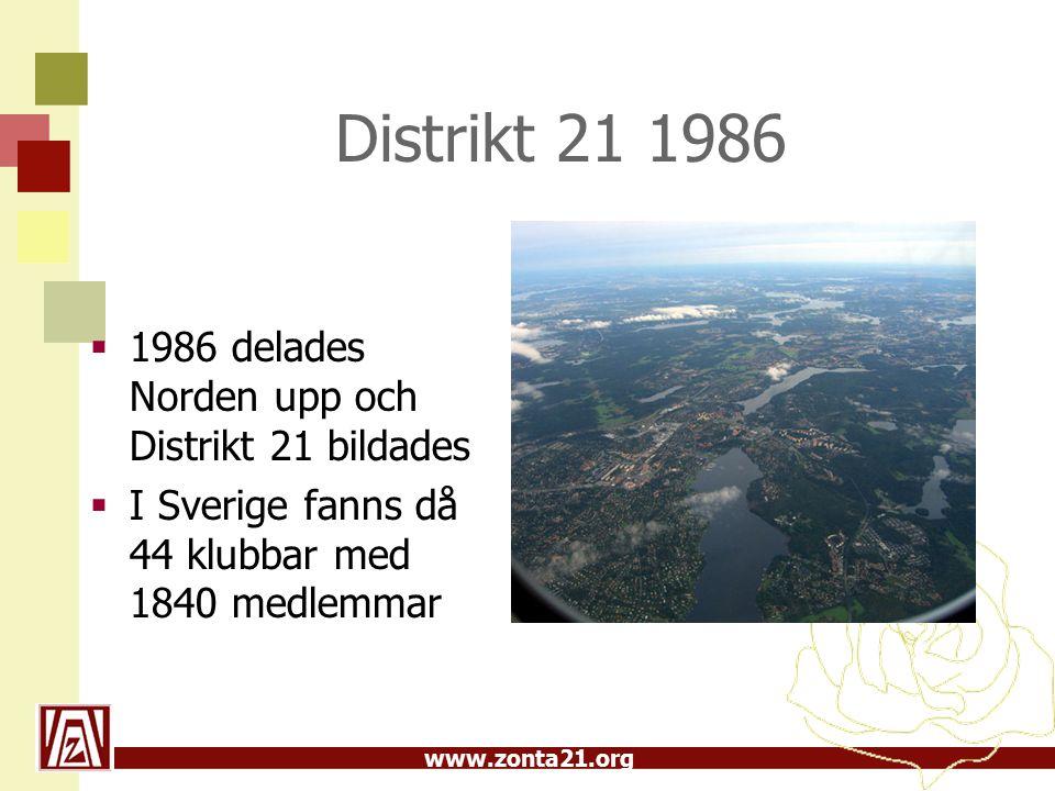 www.zonta21.org Zonta i Lettland, area 06  1:a klubben Riga 1993 - initiativ av Distrikt 21  På charterfesten deltog bl.a.