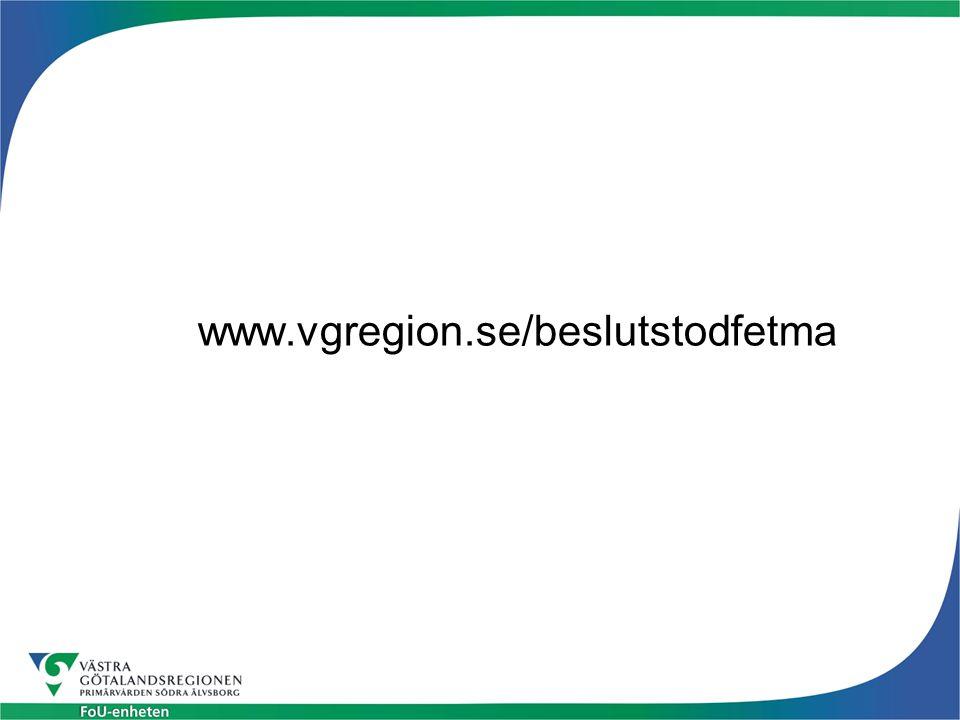 www.vgregion.se/beslutstodfetma
