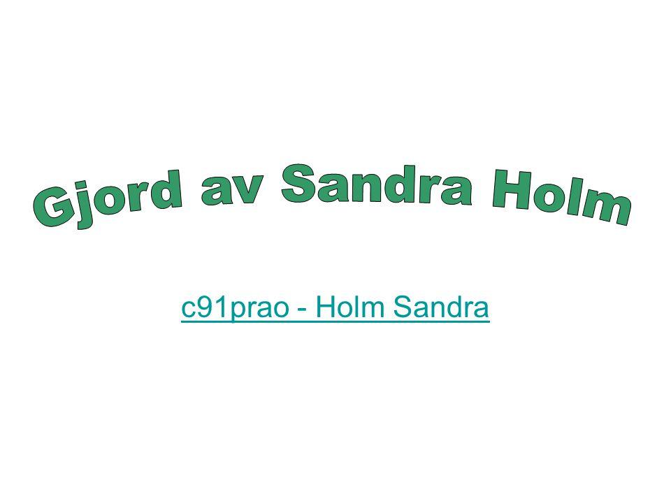 c91prao - Holm Sandra