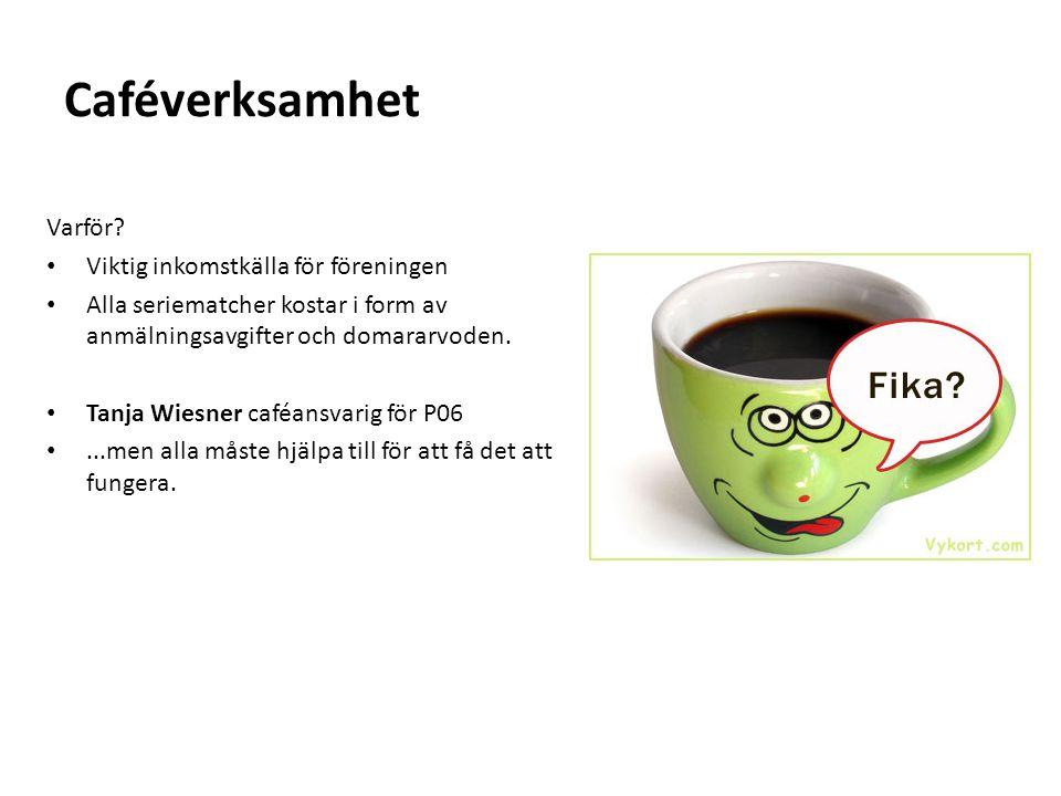 Caféverksamhet Varför.