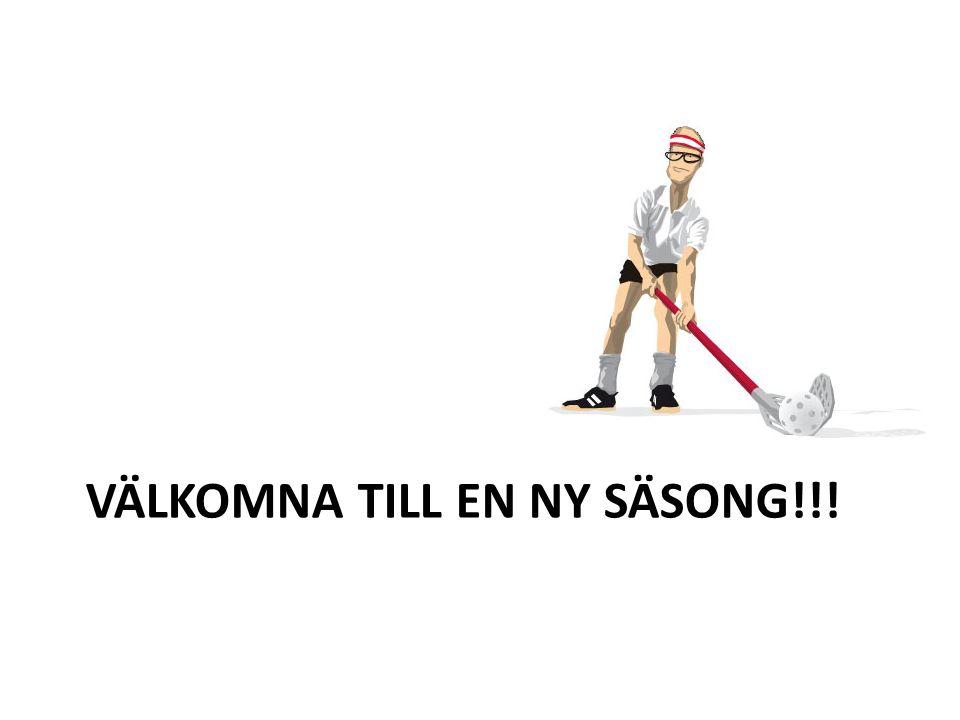 VÄLKOMNA TILL EN NY SÄSONG!!!