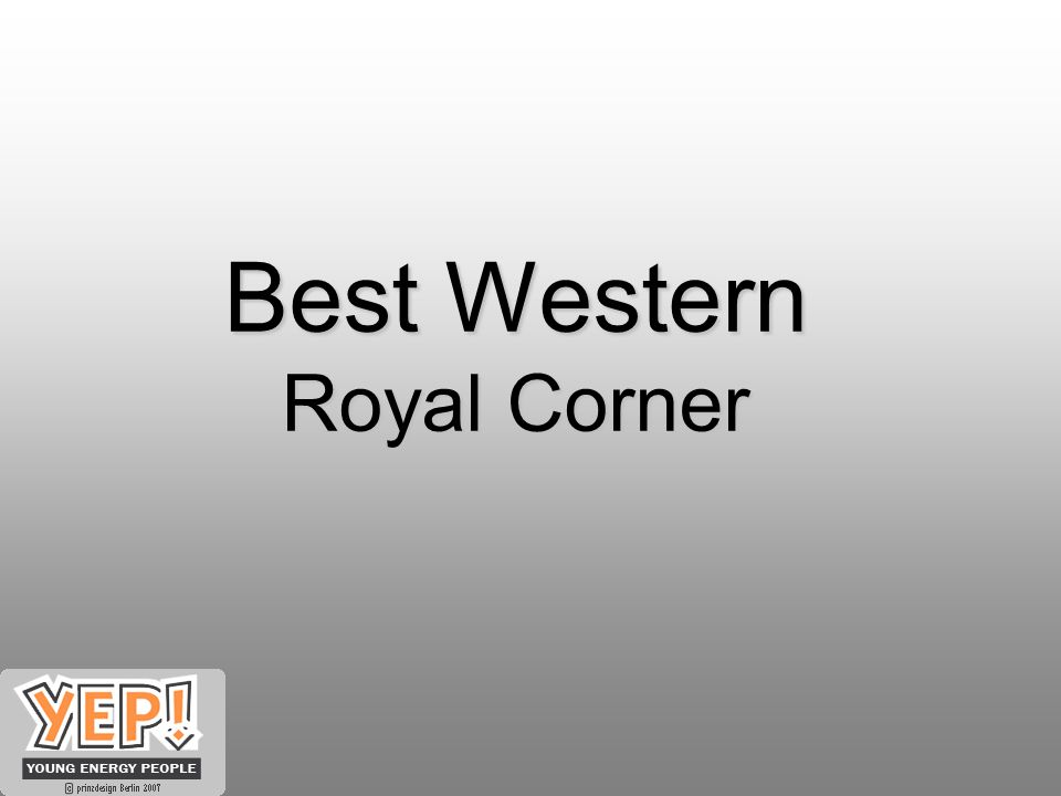 Best Western Royal Corner