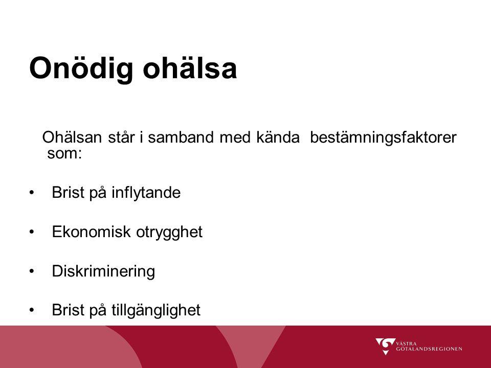 Arbetsmarknadsnoder Socialt ansvarstagande Västra Götalandsregionen - ledande när det gäller praktik/arbete för personer med funktionsnedsättning Chefer och handläggare - goda kunskaper om funktionshinder Utveckla rehabiliteringsprocessen för redan anställda Samverkansavtal Västra Götalandsregionen, FK och AF Fyra samordningstjänster Särskilda medel