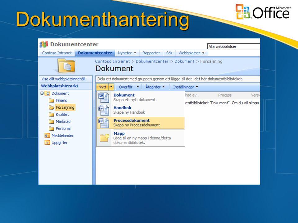 Dokumenthantering