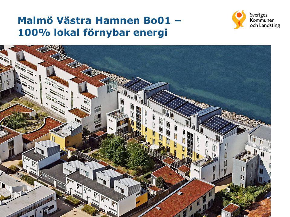 16 Malmö Västra Hamnen Bo01 – 100% lokal förnybar energi