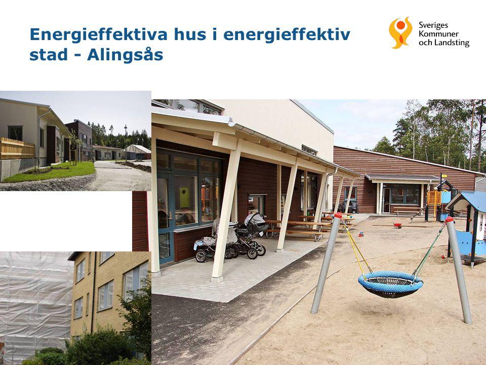 17 Energieffektiva hus i energieffektiv stad - Alingsås