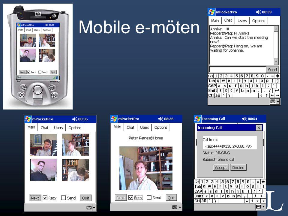 Mobile e-möten