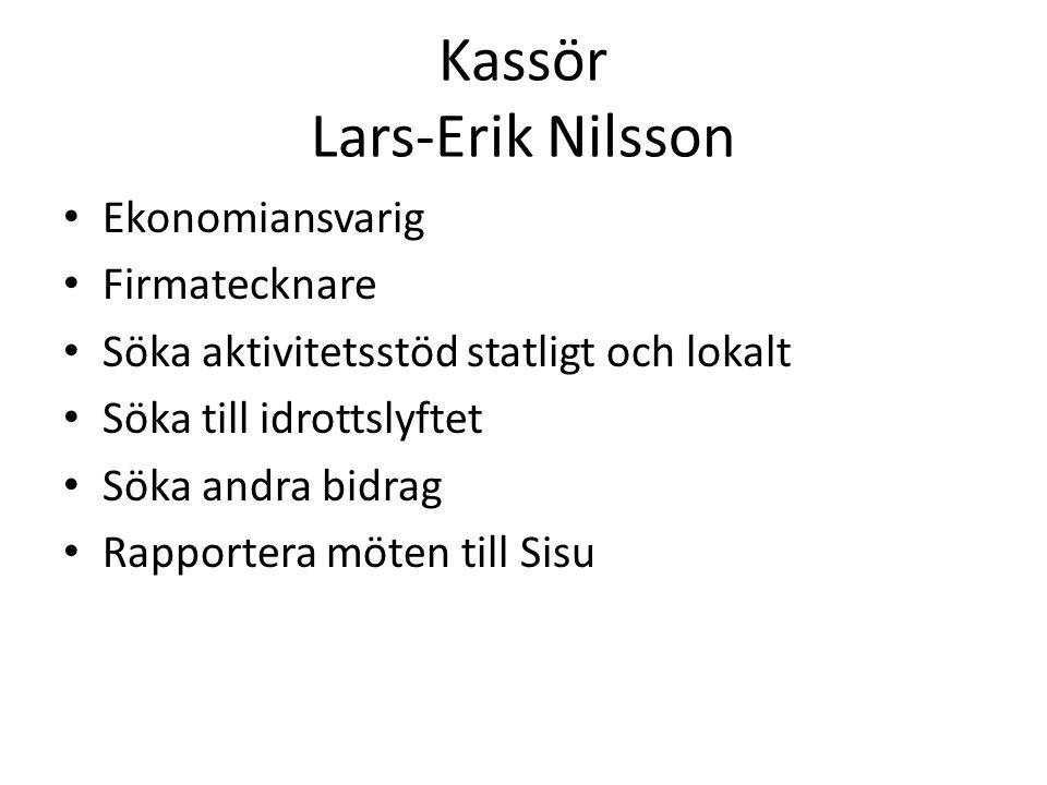 Sekreterare Eva-Lotta Eliasson Skriva protokoll vid möten.