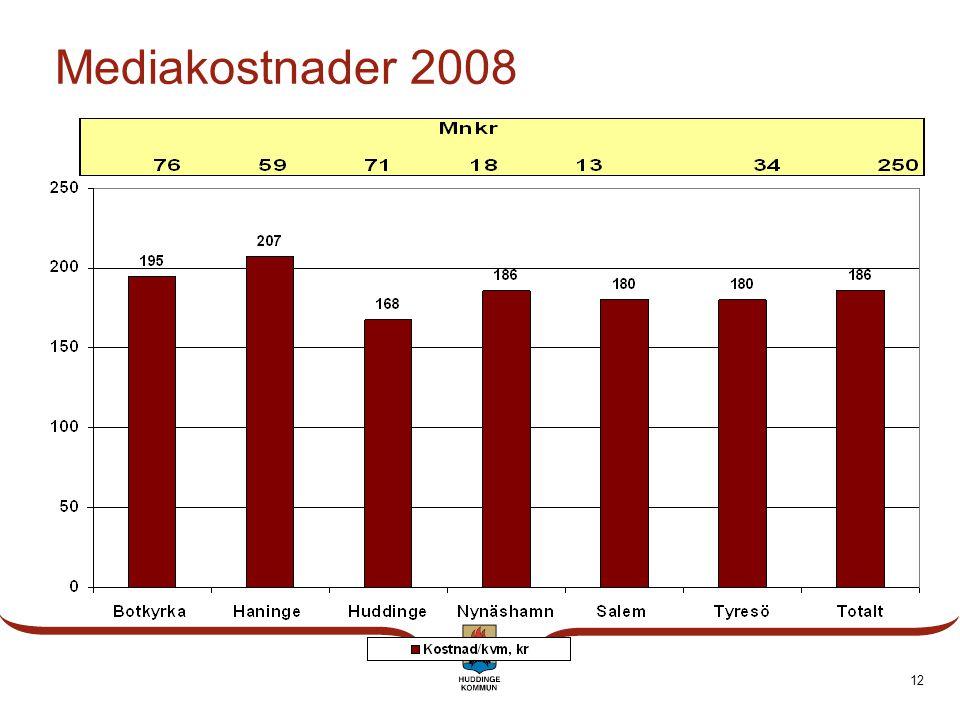 12 Mediakostnader 2008