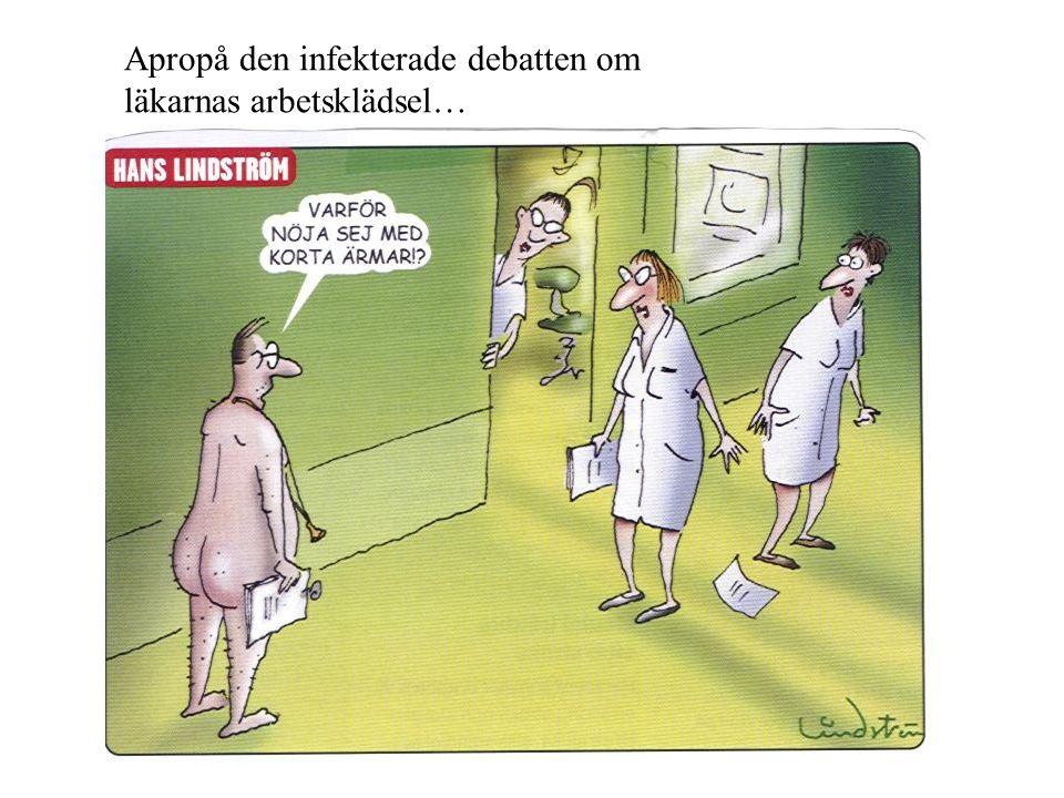 Apropå den infekterade debatten om läkarnas arbetsklädsel…