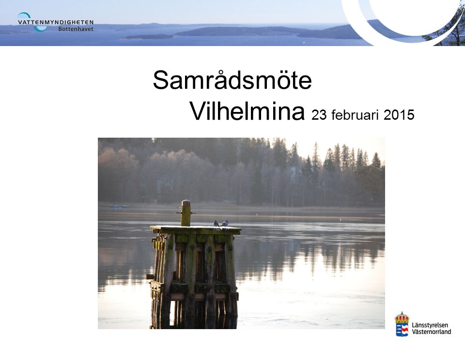 Samrådsmöte Vilhelmina 23 februari 2015