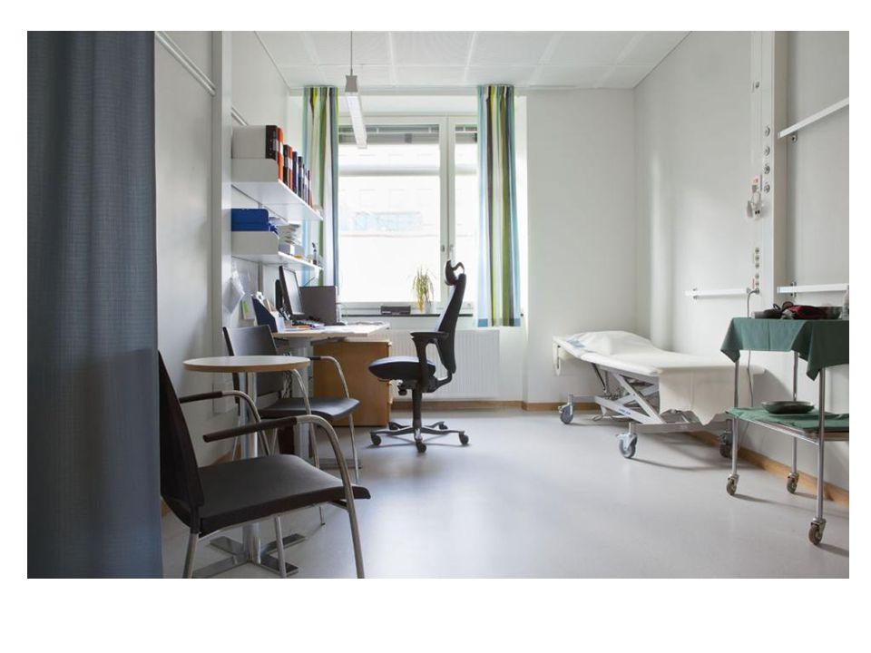 slutenvård dagvård mottagning reception kommunikations- yta