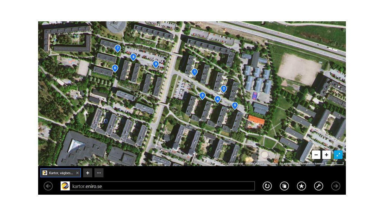 Position 1 Sb 3 – 13 Byggnad 10 och 11 66 lägenheter genererar 5 940 liter hushållsavfall per vecka inklusive matavfall cirka 1320 l.