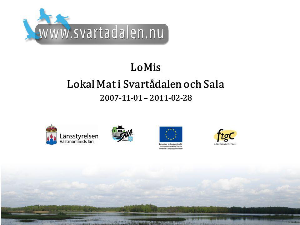 LoMis Lokal Mat i Svartådalen och Sala 2007-11-01 – 2011-02-28