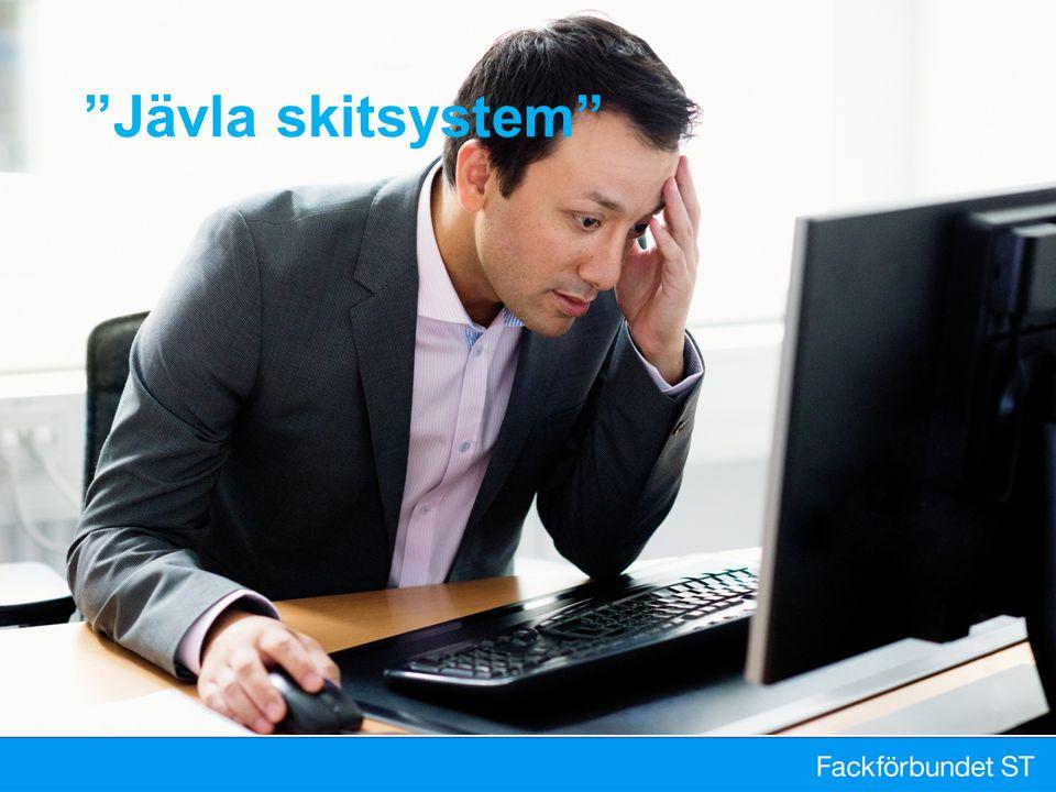 """""""Jävla skitsystem"""""""